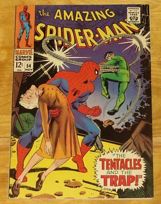 November 1967 AMAZING SPIDER-MAN No. 54 Doc Ock - Restored (Color Touch) NR