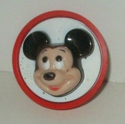 Vintage 1977 Ge Disney Mickey Mouse General Electric Night Light Loose Working