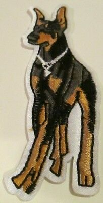 Doberman Embroidered Patch Sew/iron On Brand New~Usa Seller~