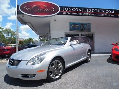 Lexus SC -- 2007 Lexus SC 430 CONVERTIBLE! 2OWNER, CLN CARFAX, LOADED W/EVERY AVAIL OPTION!