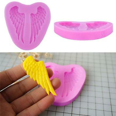 Silicone 3D Wings Mold Fondant Chocolate Sugar Craft Cake Decor DIY Tools New D