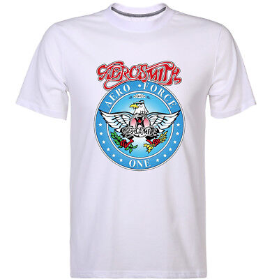 New Wayne's World Garth Algar Aerosmith Graphic T-shirt Halloween Costume Shirts