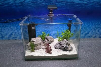 Wave Box ORION 40 Nano Aquarium Komplettaquarium Mini Aquarium+Filteranlage