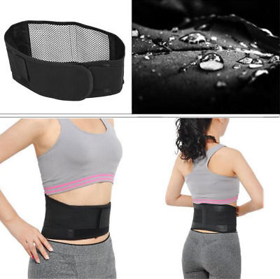 Tourmaline Self-heating Magnetic Therapy Waist Belt Lumbar Support Back Waist SD
