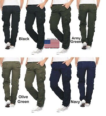 Womens Military Combat Trouser Ladies Cargo Pants & Girl Army Trousers USA 6-18