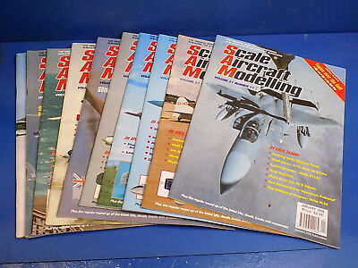 Scale Aircraft Modelling Magazine 1992 - 2018 - Select From Back Issues