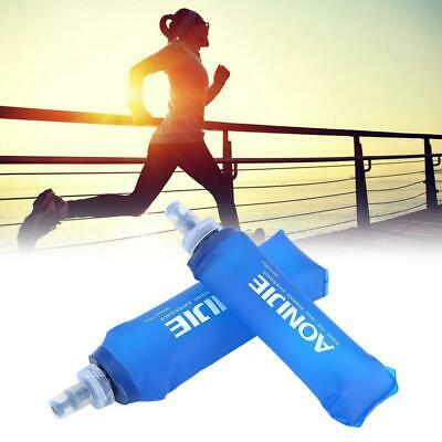 AONIJIE Compact 250/500ML Foldable Soft Flask TPU Squeeze Running Water Bottle