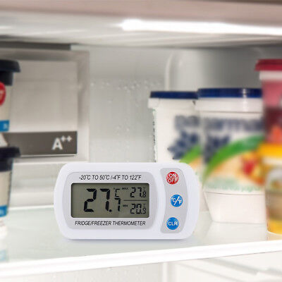 Wireless Digital Temperature Freezer Innenthermometer Hang Hook Thermometer