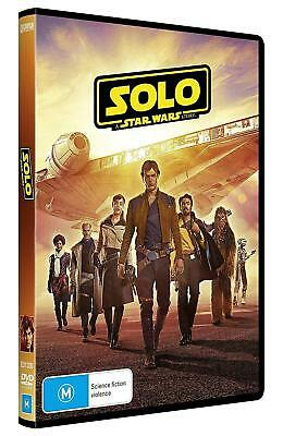 STAR WARS 3.7 (2018) SOLO: A STAR WARS STORY - Han - Au Rg4 - NEW 2D DVD