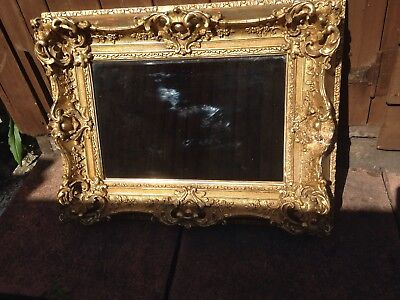 Ornate Vintage Gilt Mirror 60cm X 45cm