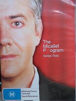 THE SHAUN MICALLEF PROGRAM Series Three DVD Season 3 Trois Pogram P(r)ogram(me)