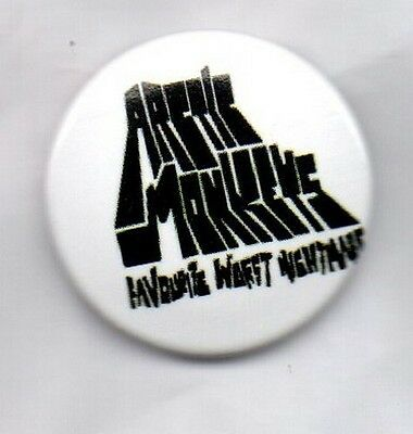 ARCTIC MONKEYS Favourite Worst Nightmare BUTTON BADGE  INDIE ROCK BAND 25MM