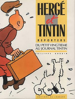 P.Goddin- Herge and Tintin Reporters Notepad – from Petit Twentieth in the