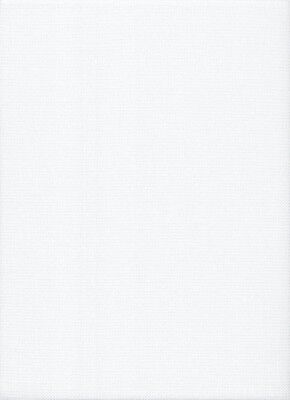 22 count Fabric Flair White Hardanger E/W Fabric - 49 x 90 cms