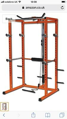 Gymano Ultimate Power Squat and Bench Rack
