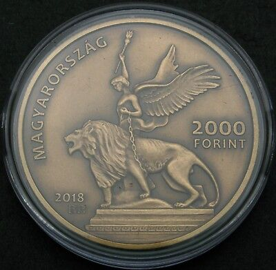 HUNGARY 2000 Forint 2018 - Fiumei Road Cemetery - aUNC - 1164 ¤