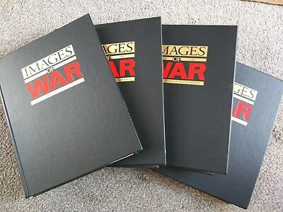 IMAGES OF WAR - COLLECTION OF MAGAZINES IN BINDERS - FULL SET OF 52 magazines.