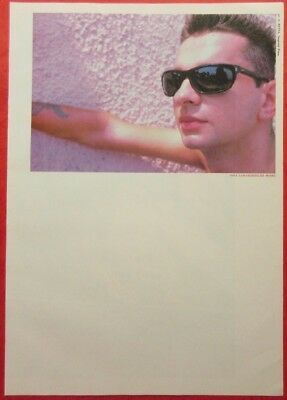 1987 Dave Gahan DEPECHE MODE CLIPPING JAPAN MAGAZINE CUTTING OI C6