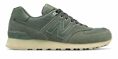 New Balance Men's 574 Outdoor Activist Shoes Green with Tan