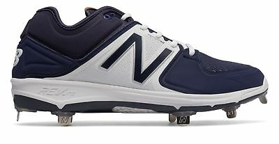 547b7fe1f New Balance Low-Cut 3000V3 Metal Baseball Cleat Adult Shoes Navy With White