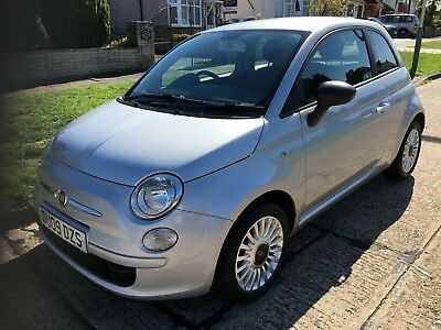 2009 Fiat 500 1.2 Pop  Only 37655 Miles, F/s/h With New Cambelt Kit