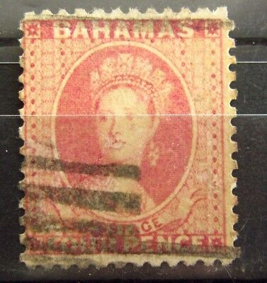 BAHAMAS British Colonies Old Stamp - Used - UnWmk - r35e7198