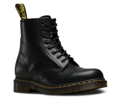AUTHENTIC  Dr. Martens 1460 SMOOTH BLACK Lace Up Leather Boots