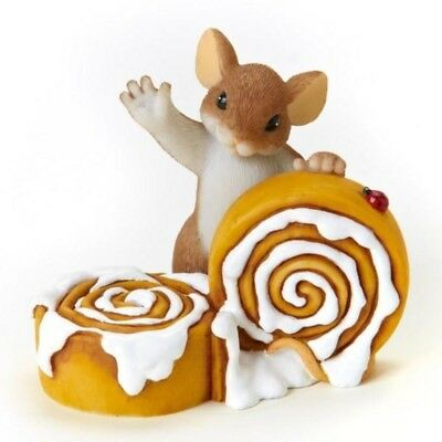 Charming Tails Figurine, 'Hi There Sweetie Buns!', New In Box, 4025715