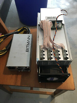 Used BITMAIN ANTMINER L3+ and Power Supply