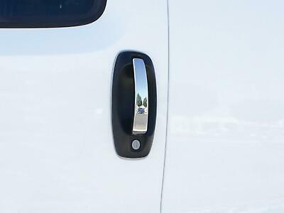 Stainless Steel Chrome 4 Door Handle Covers Trim 4pc Kit Set For Fiat Qubo