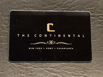John Wick Continental Hotel Key Card!! (2)
