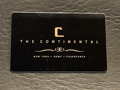 John Wick Continental Hotel Key Card!!