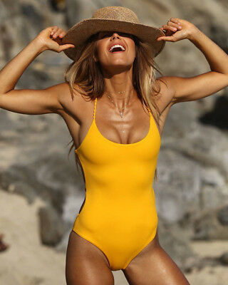 Sexy Women One-Piece Swimwear Push-up Monokini Bikini Swimsuit Bathing Beachwear