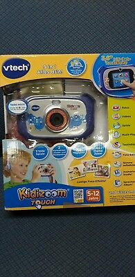 """Vtech Kidizoom Touch Kamera 3"""" LCD Display 9in1 5 Spiele Mp3 Player Video Foto"""