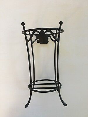 Longaberger Miniature Wrought Iron Umbrella Stand For JW Basket New Condition