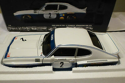 Ford Capri RS 3100 Nürburgring DRM 1974 in OVP  1:18 Minichamps