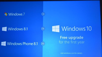 Windows 10 upgrade, From windows 7, 8 or 8.1, Genuine Microsoft upgrade