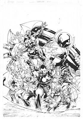 DIEGO BERNARD Cover Quality Commission for New York Comic-Con Original Art NYCC