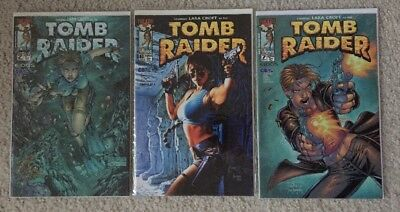 TOMB RAIDER #2, 6 & 7 (Top Cow 1999) Lara Croft 1st Print VF/NM Cond!