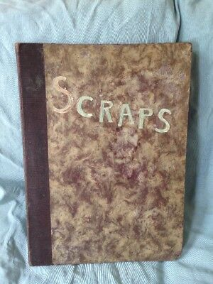 ~ Superb Vintage 1940's Scrap Book World War Two - Airplanes Bombers, Cars, Etc