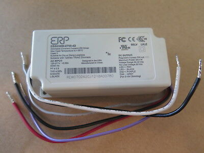 ERP ESS030W-0700-42 dimmable constant current LED driver 30w 700mA 42Vdc