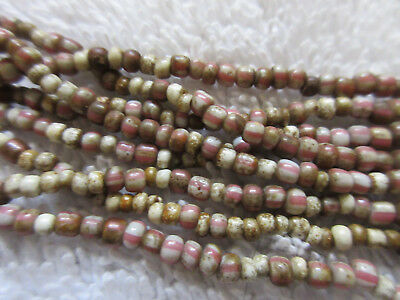 Very Nice And Long Strand Of Old Trade Beads--Nr!