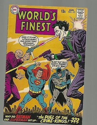World's Finest #177 Joker Cover