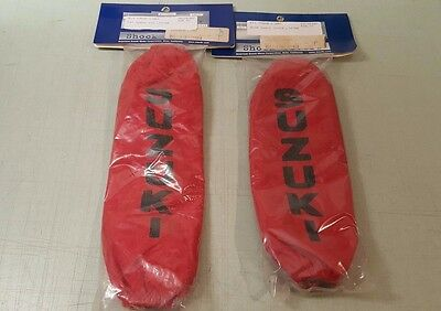 OEM Suzuki Front & Rear Red Shock Covers LTA700 990A0-47004 990A0-47005 *NEW*