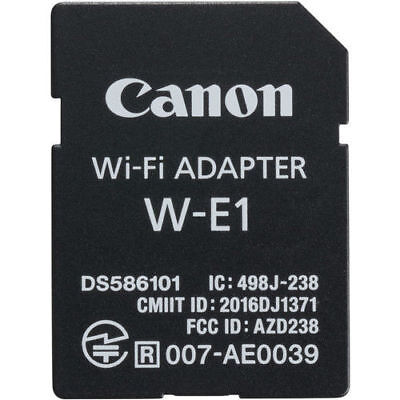 Canon W-E1 Wi-Fi Adapter BRAND NEW NEVER USED removed from canon 7d mark camera