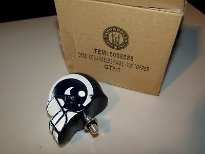 Los Angeles Rams Football Helmet Beer Tap Topper for Michelob Ultra Bud Light