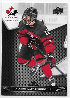 18/19 UPPER DECK TEAM CANADA JUNIORS BASE Hockey (#1-100) U-Pick From List