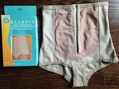 Bellefit Dual-Closure Girdle ® Size SMALL- Best Postpartum Recovery Girdle
