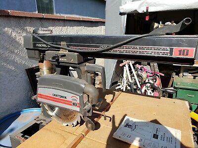 """LOCAL PICKUP ONLYCraftsman 10"""" Radial Arm Sawwith stand"""
