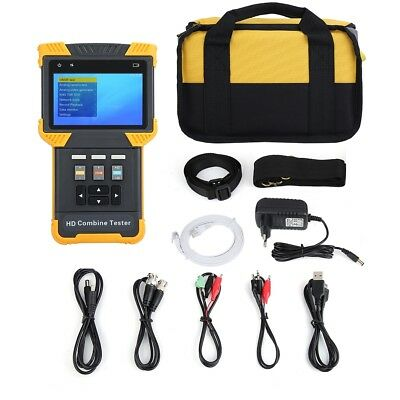 """DT-T70 CCTV Tester 4"""" HD 1080P IP Analog Camera Monitor Home Office Surveillance"""